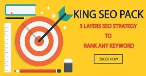 Thumbnail of King SEO Pack - 3 Layer SEO Strategy to RANK ANY KEYWORD.