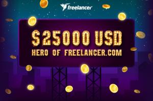 Thumbnail of Be The Hero of Freelancer.com!.