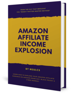Thumbnail of Amazon Affiliate Income Explosion.