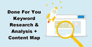 Thumbnail of Done For You Keyword Research & Analysis + Content Map.