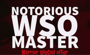 Thumbnail of Notorious WSO Master - How I sold 488 WSOs on the Warrior forum, working only 6 hours.