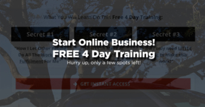 Thumbnail of [FREE 4-Day Training] How To Start Your Own Thriving Online Business In 2019!.