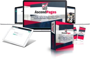 Thumbnail of AscendPages Review vs ClickFunnels and Thrive Architect.