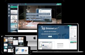 Thumbnail of GrooveKart vs SamCart vs PayKickstart Review.