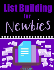 Thumbnail of List Building For Newbies.
