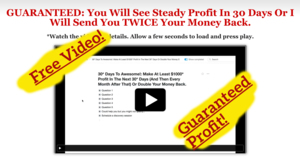 Thumbnail of 200% GUARANTEED: At Least $500 Hands Off Profit In 30 Days Or I Will Send You TWICE Your Money Back.