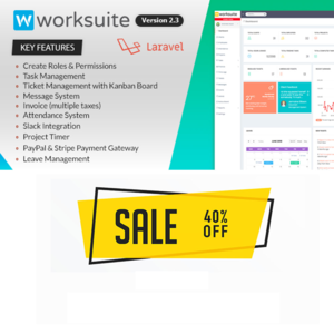 Thumbnail of Worksuite Project Management Software.