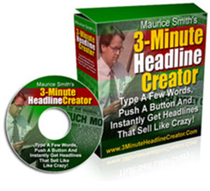 "Thumbnail of ""Push-Button Tool Creates Headlines That Drives More Clicks, Leads and Sales In 3-Minutes or Less!""."