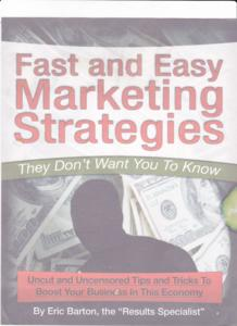 "Thumbnail of ""Fast and Easy Marketing Strategies They Don't Want You To Know""."