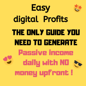 Thumbnail of Easy Digital profits - Earn money with NO money starting TODAY!.
