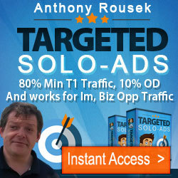 Thumbnail of Anthony's SOLOADS Traffic for IM, MMO and All Biz Opp - Checkout my Testimonials.