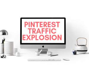 Thumbnail of How To Grow Your Blog Traffic Using Pinterest - Pinterest Traffic Explosion eCourse.