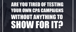 Thumbnail of [DFY] Let Us Build You A High-Converting CPA Campaign....