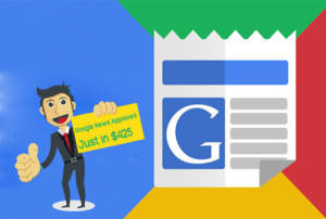 Thumbnail of Get Newly Google News Approved Website and Double up your Search Visibility.
