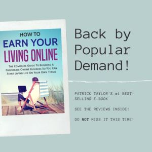 """Thumbnail of My #1 Selling course is BACK for 2020! """"How To Earn Your Living Online""""."""