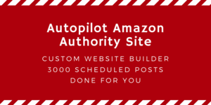 Thumbnail of Let me build you a fully automated premium Amazon product ranking affiliate site with 3000 posts.