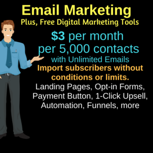 Thumbnail of Get Email Marketing and All the Digital Marketing Tools ($3/mo).