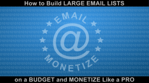 Thumbnail of Affiliate / CPA Email Marketing - Learn to Build LARGE EMAIL LISTS on a BUDGET & MONETIZE Like a PRO.