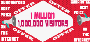 Thumbnail of Get 1 Million Vistors Web Traffic To Your Site For 20$.