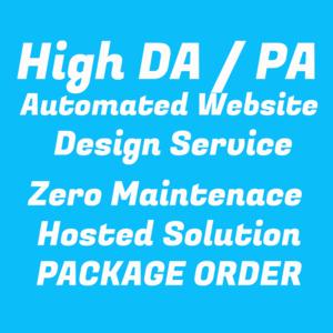 Thumbnail of High DA / PA Website Design Service | Bulk Pricing | Zero Maintenance | Hosted Solution.