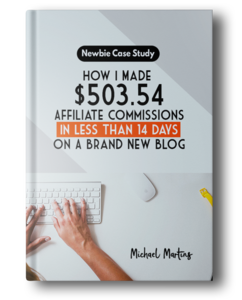 Thumbnail of [Newbie Case Study] How I Made Quick Affiliate Commisions In Less Than 14 Days On A Brand New Blog.