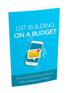 Thumbnail of List Building on a Budget.
