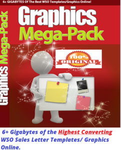 Thumbnail of Get 6+ GIGABYTES of the Highest Converting WSO Sales Letter Templates/ Graphics Online.