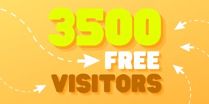 Thumbnail of Get 3,500 Real Website Visitors for FREE.