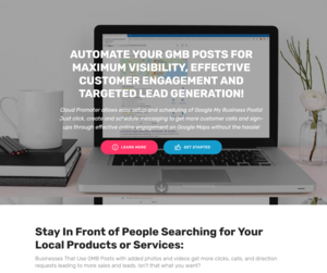Thumbnail of Cloud Promoter - Automated Google My Business Posting System.