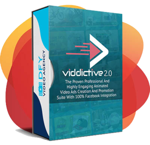 Thumbnail of [SOFTWARE] Viddictive:  A Cloud-Based App For Creating Animated Facebook Video Ads In minutes..