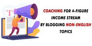 Thumbnail of 4-Figure Coaching Program using Non-English Keywords and Min Content.