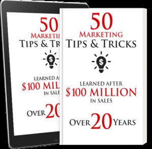 Thumbnail of 50 Marketing Tips and Tricks.