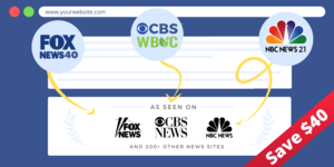 Thumbnail of Get Featured on CBS, FOX, NBC, Google News and over 200 high authority news sites - SAVE $40 TODAY.