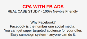 [HOT]Super Easy CPA system With FB ADS - That Really Working for long -- Case Study + Huge Reviews. Thumbnail