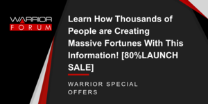 Learn How Thousands of People are Creating Massive Fortunes With This Information! [80%LAUNCH SALE] Thumbnail