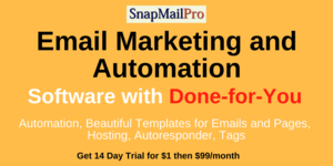 SnapMailPro - Email Marketing Automation Software WITH Done-for-You Service Included Thumbnail