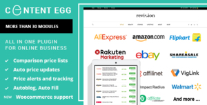 Content Egg - all in one tool for Affiliate, Comparison and review Websites Thumbnail