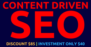 Flat $85 Discount - SEO for Only $28 [HIGHER RANKING + TRAFFIC + INQUIRIES + MORE CUSTOMERS] Thumbnail