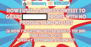 Contest Workshop ($XXX,XXX.XX PROFIT WITH NO PRODUCT AND NO LIST) Thumbnail