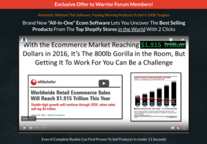 [Warrior Deal of the Week] The Unfair Advantage to win the Ecommerce Game in 2019 Thumbnail