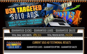 [SOLO ADS] USA Targeted Solo Ads - GET 4000+ CLICKS - 800+ SIGNUPS - SALES GUARANTEED! Thumbnail