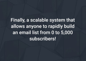 Coaching You to Your First 5,000 Email Subscribers - Start with $0 + Money Back Guarantee Thumbnail