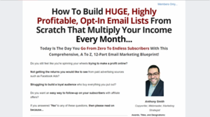 How To Build HUGE, Highly-Profitable, Opt-In Email Lists From Scratch That x Your $ Every Month! Thumbnail