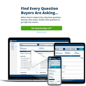 [Breakthrough] QuestionSpy 2.0™ - Get Buyers Faster (and for pennies)...weird software Thumbnail