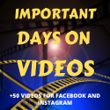NOT AVAILABLE ANYMORE-Get More Than 40 Videos To Post On Facebook And Instagram Every Month! Thumbnail