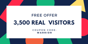 3,500 Real Website Visitors for FREE Thumbnail