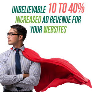 Unbelievable 10 to 40% Increased Ad Revenue for your Websites - Anti-adblock Ads & More Thumbnail