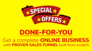 [DONE-FOR-YOU] GET A COMPLETE ONLINE BUSINESS WITH PROVEN SALES FUNNEL BUILT FROM SCRATCH Thumbnail