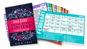 365 Days Social Media Content Calendar - Get 365 Done-For-You Content Ideas Today Thumbnail